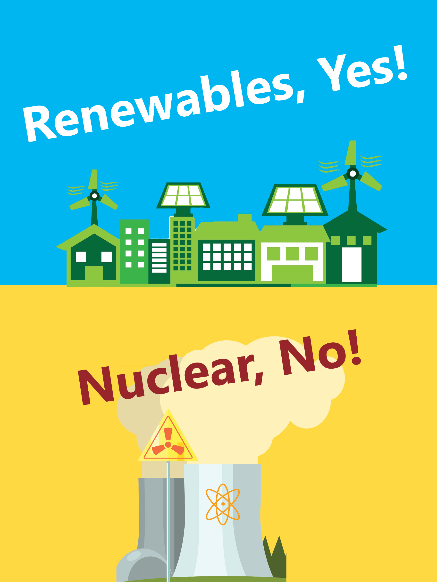 renewables yes nuclear no